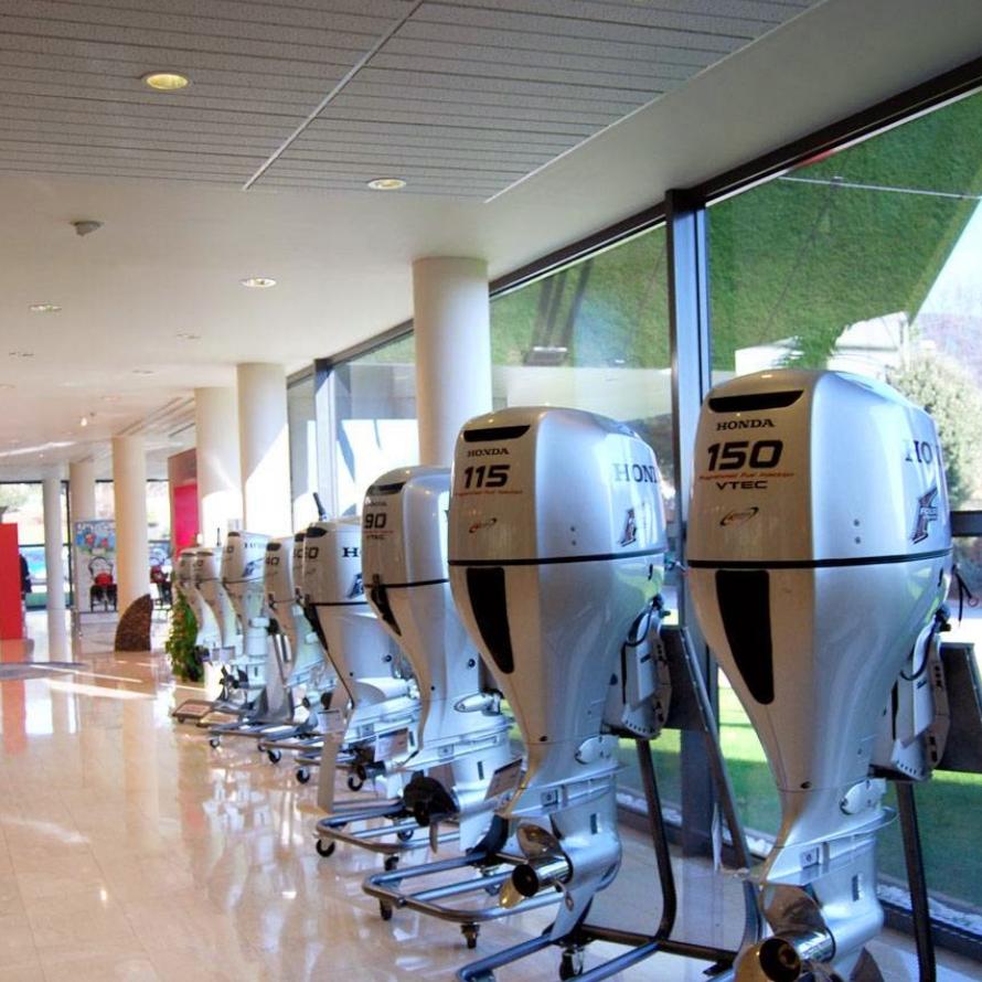 Exposición - Exposición Honda Marine